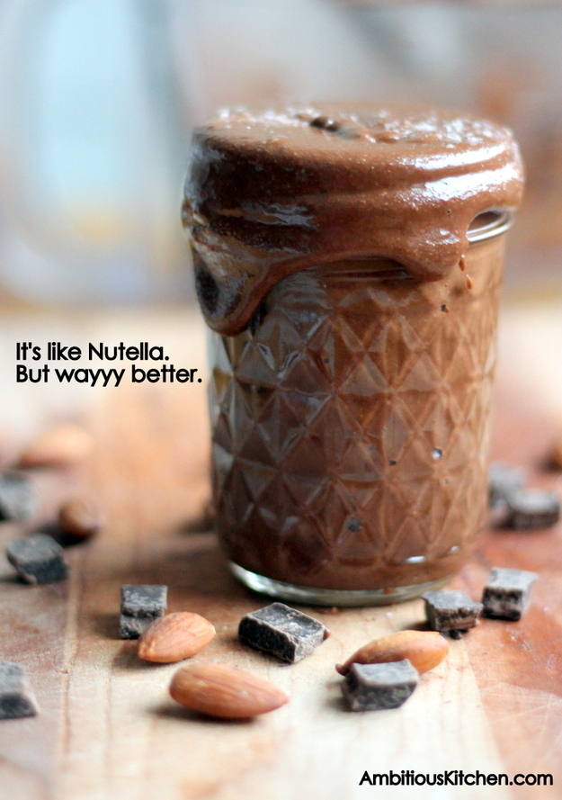 Salted Dark Chocolate Almond Butter