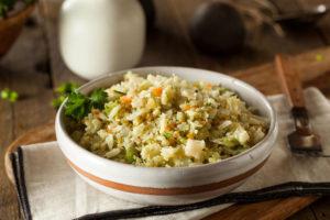 Cauliflower rice paleo recipe-1
