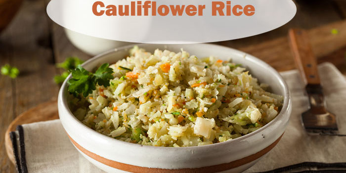 Cauliflower Rice Paleo Recipe