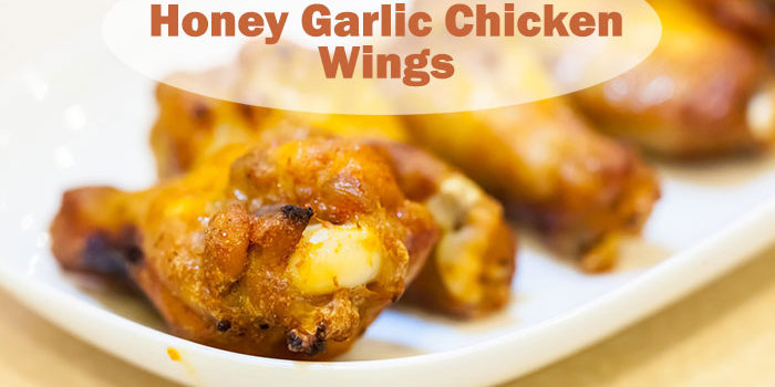 Honey Garlic Chicken Wing Paleo Recipe