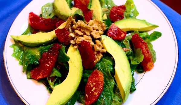 Orange and Avocado Paleo Salad